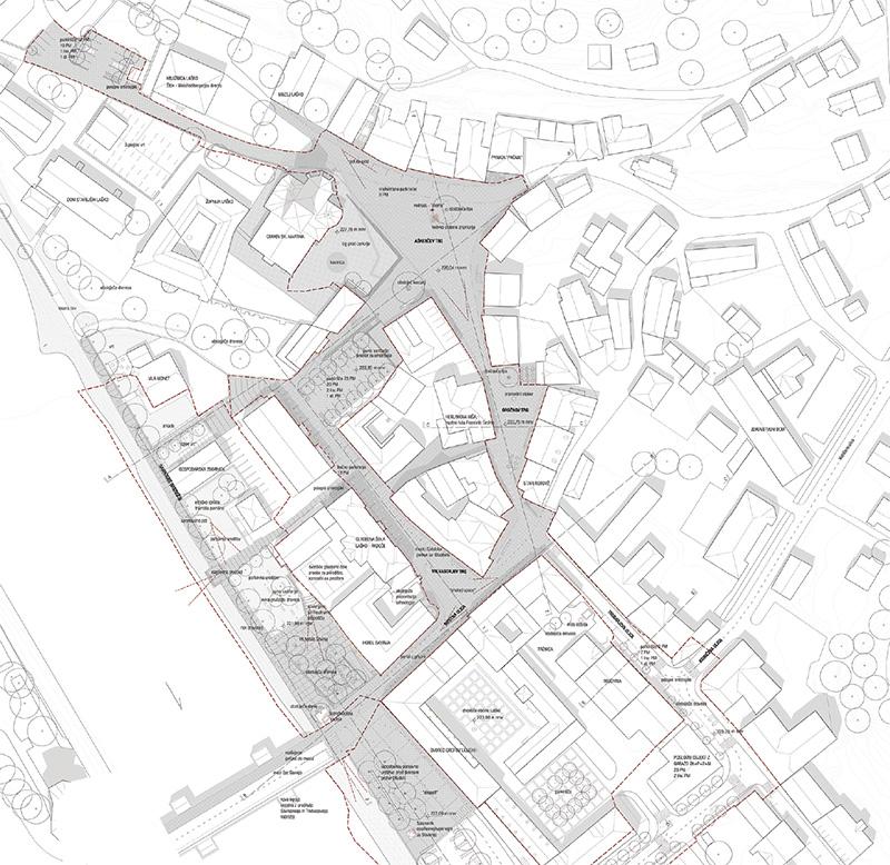 Ureditev starega mestnega jedra Laško