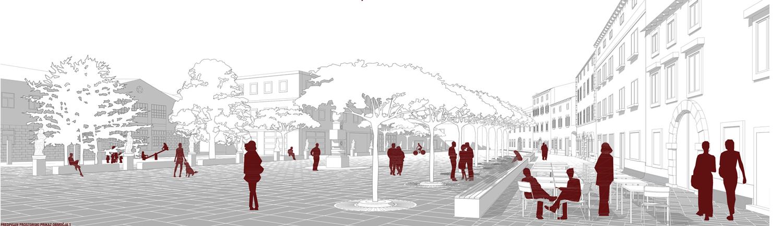 Ureditev Glavnega trga v Vipavi