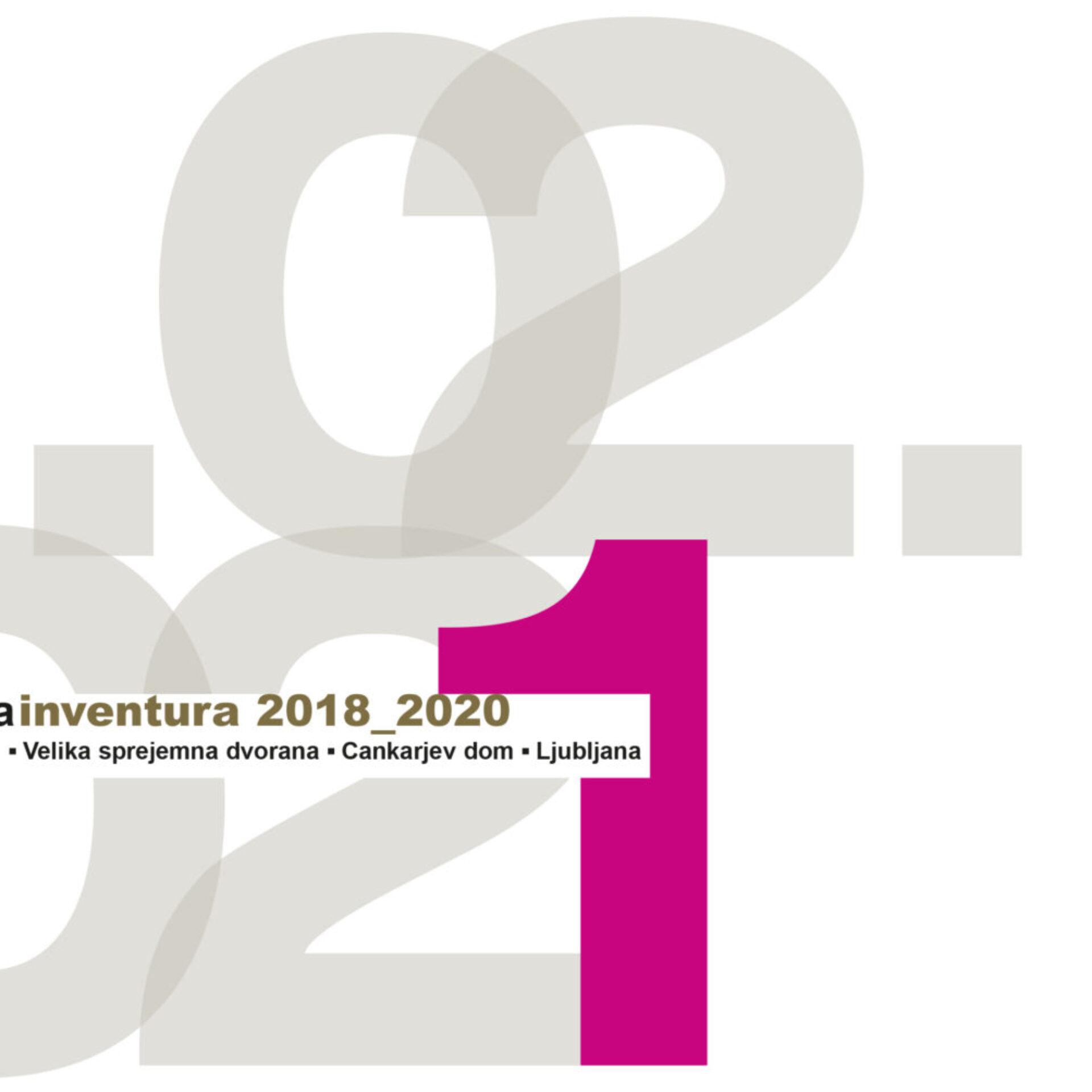 ARHITEKTURA INVENTURA 2018-2020